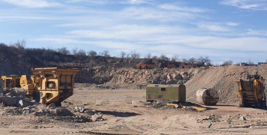 Полезные ископаемые, незаконная добыча