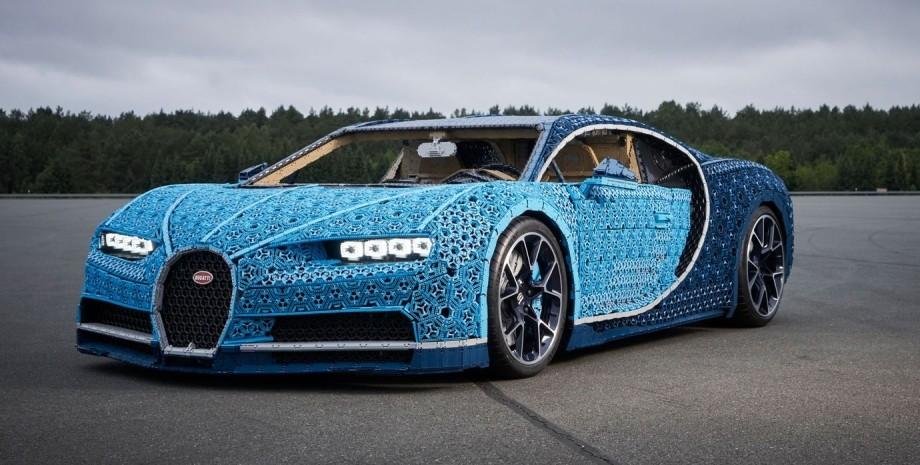 Bugatti Chiron, Lego