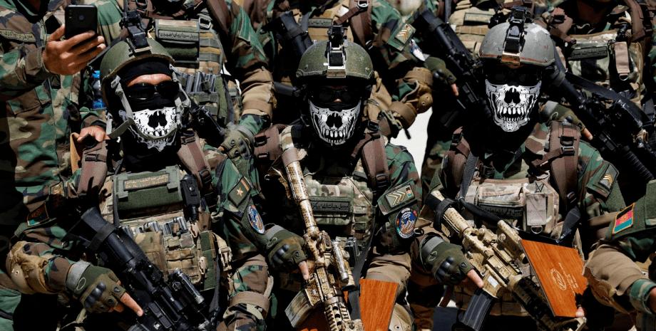 афганский спецназ в противостоянии с талибами.