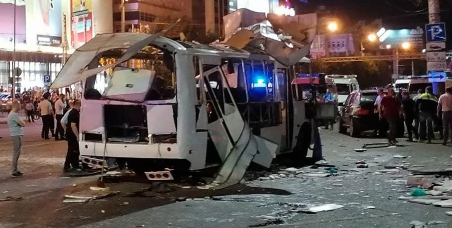 Воронеж, автобус, взрыв,