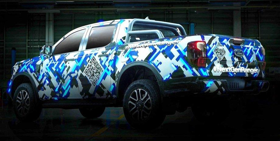 Ford Ranger 2022, новый Ford Ranger, пикап Ford Ranger, Форд Рейнджер 2022