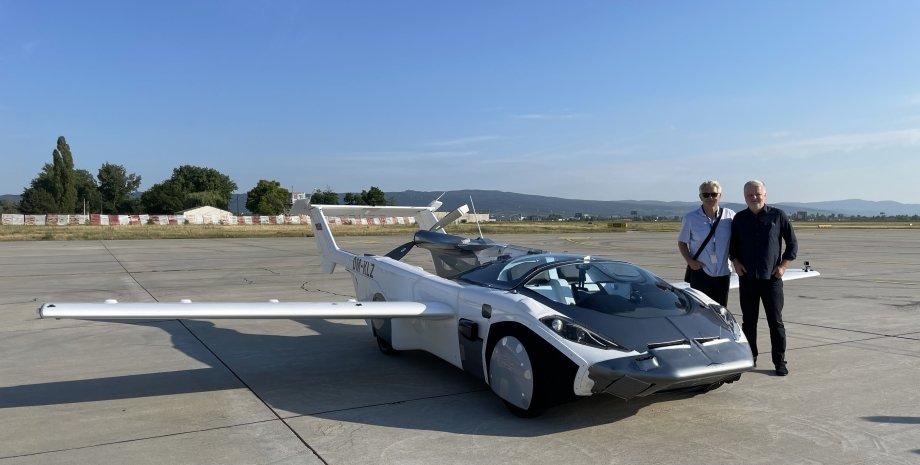 AirCar, автомобиль, полеты, рекорд,