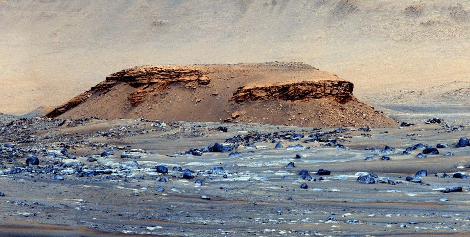 холм Kodiak, Марс, поверхность, фото