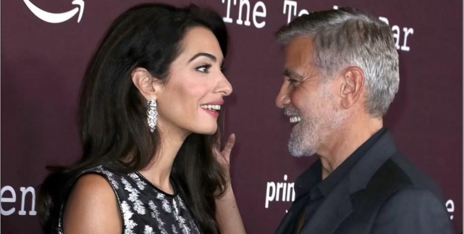 Амаль Клуні з чоловіком