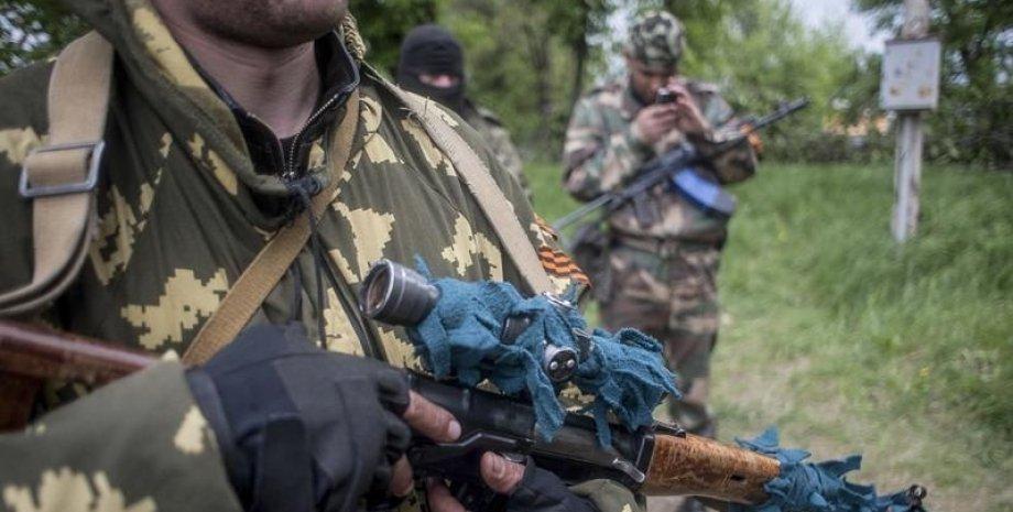 Боевики в Донбассе / Фото: ЕРА