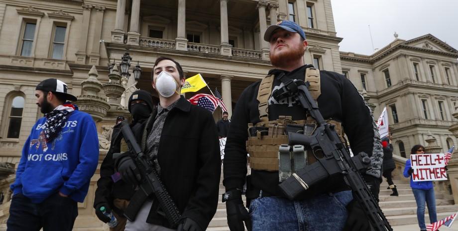 ношение оружия в сша, вторая поправка к конституции