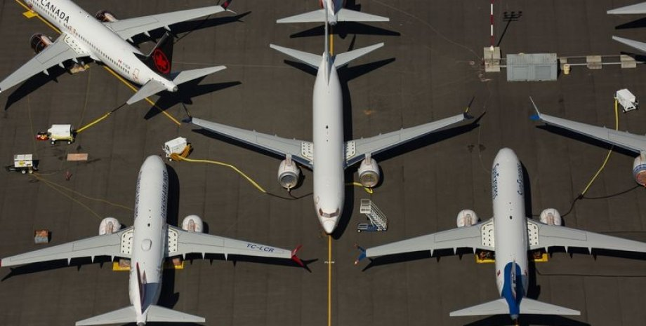 Boeing 737 MAX. Фото: David Ryder/Getty Images