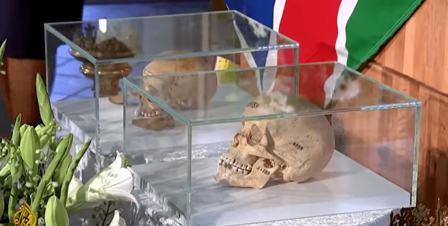 останки, геноцид, германия, намибия, фото