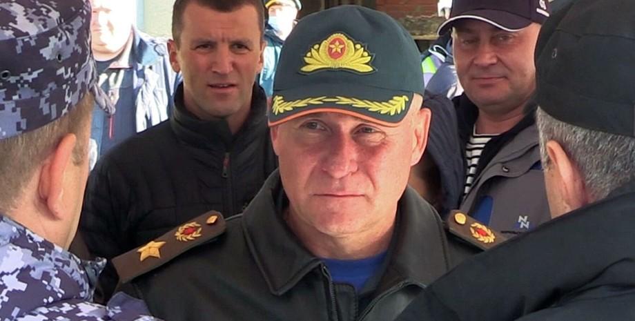 Зінич, охоронець Путіна, водоспад