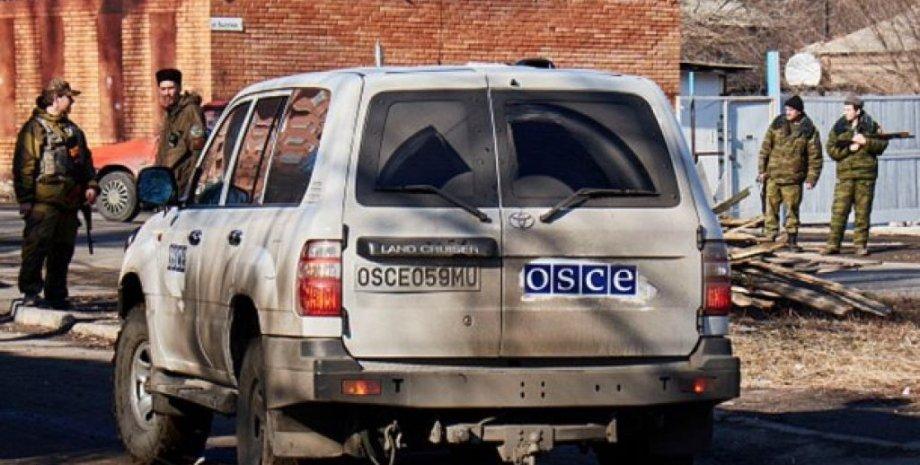 """Миссия ОБСЕ в Донбассе / Фото: РИА """"Новости"""""""