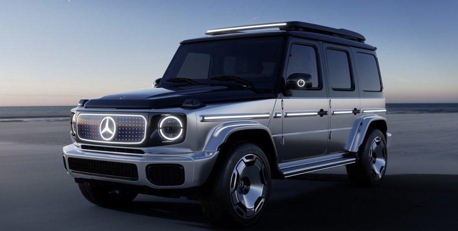 Concept EQG, электрический Mercedes-Benz G-Class, Гелендваген, Гелик, электрический Гелик, электрический Гелендваген