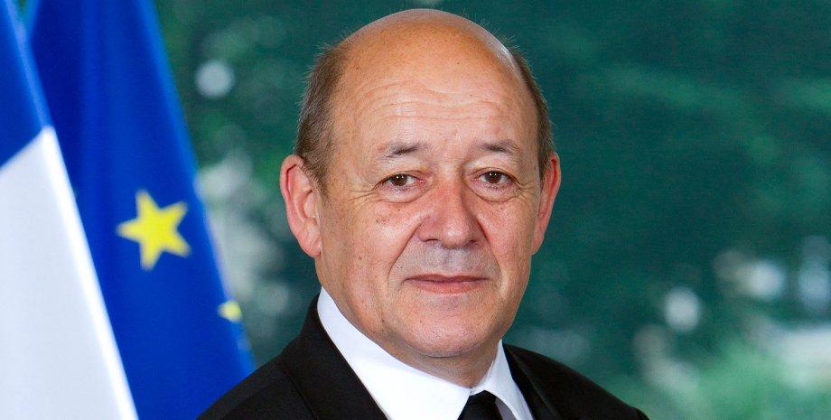 Глава МИД Франции Жан-Ив Ле Дриан