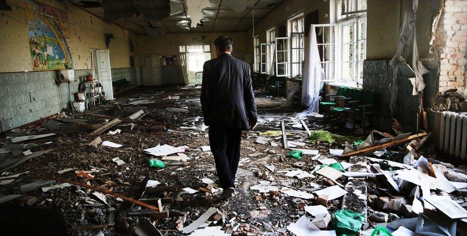 Разрушения в Луганске / Фото: Getty Images