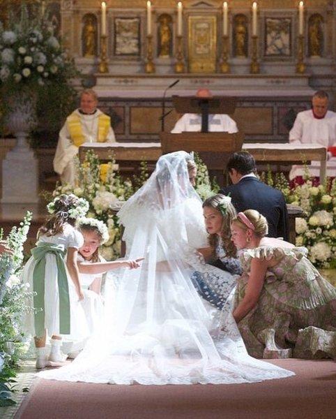 принцесса Мария-Анунциата Лихтенштейнская, свадьба