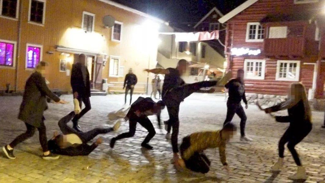 Норвегия, карантин, беспорядки,