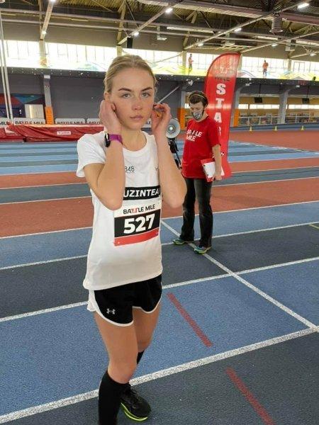 Катерина Долган, легка атлетика