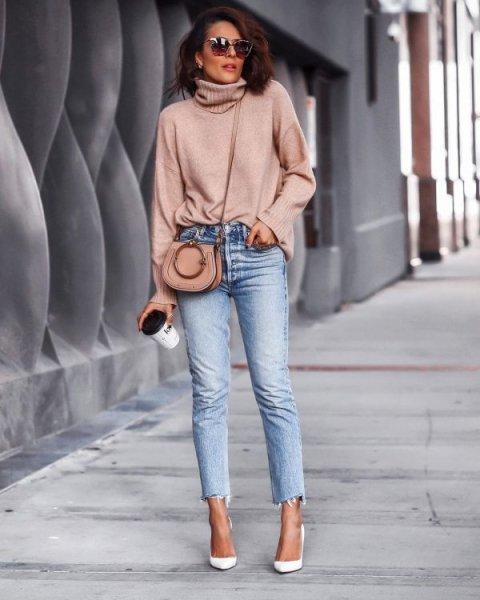 укороченные джинсы 2021 фото