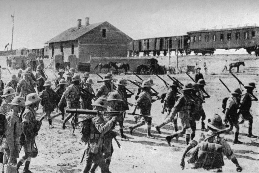 ВОЕННЫЙ МАНДАТ. Британцы вКарабахе, 1919г.